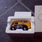CORGI 1:43 Collector Club 91' Morris J Type in Mailer box @SOLD@
